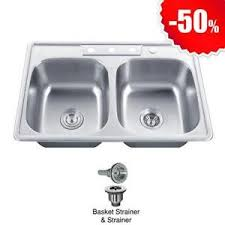 Stainless Steel Kitchen Sink EBay - Metal kitchen sink