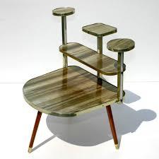 German Modern Furniture by Original Mid Century Modern 50s German Vintage Table Plant Stand 3