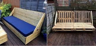 divanetti fai da te come realizzare una pavimentazione da giardino in legno con divano
