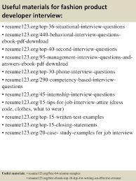 Job Developer Resume Sample by Top 8 Fashion Product Developer Resume Samples