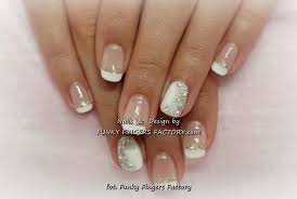 french manicure with crystals gelish french manicure with aurora