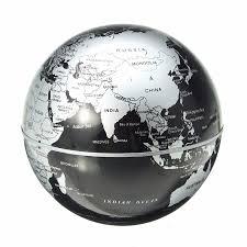 World Map Globe by Magnetic Floating World Map Globe Anti Gravity Office Desk