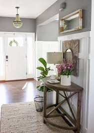 Entryway Table With Baskets Collection In Half Circle Entry Table With Entryway Table With