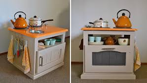diy play kitchen ideas diy gift idea small side table made into a