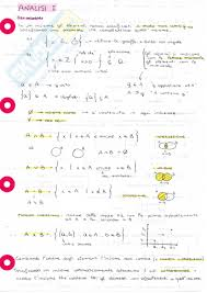 dispense analisi 1 nozioni appunti di analisi 1