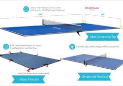 Table Tennis Dimensions The Table Tennis Conversion Top Guide Facts U0026 Reviews