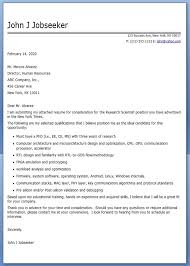 cover letter research scientist sample creative resume design