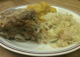 sauerkraut and pork ribs leftover time