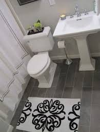 Bathroom Flooring Tile Ideas Wide Plank Tile For Bathroom Great Grey Color Great Option If