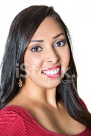 hispanic hair pics portrait of a beautiful hispanic woman with long black hair stock