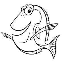 40 Finding Nemo Coloring Pages Free Printables Nemo Color Pages