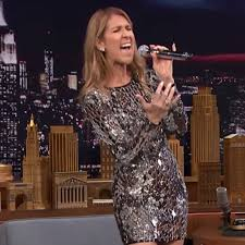celine dion on the tonight show july 2016 popsugar celebrity