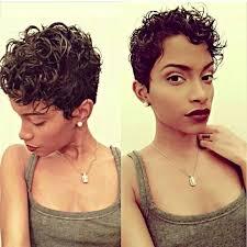 cutting biracial curly hair styles cute curly pixie cut toni s hair affair pinterest curly