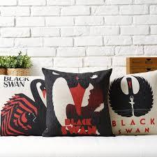 canapé angleterre black swan affiche littéraire angleterre pape draps oreiller