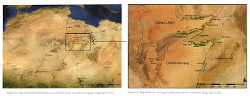 Oasis Map History The Libyan Kingdom Of The Garmantians