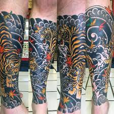 70 japanese tiger designs for masculine ideas mens