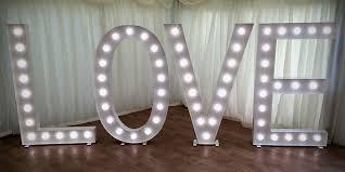 white light up letters light up letters