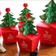 candy apple bags merry christmas tree bell party paper craft gift candy apple bags