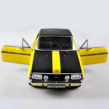 opel commodore revell 1 18 diecast opel commodore gse yellow car vehical model