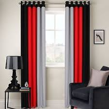 Gray And Red Curtains Best Black And Red Curtains Pictures Amazing Home Design