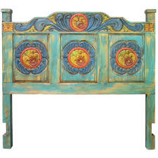 carved painted wood headboard queen and king polyvore