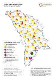 Moldova Map National Bureau Of Statistics Population And Housing Census In 2014
