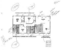 Golden West Homes Floor Plans by 1994 Skyline Mobile Home Floor Plans