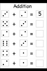 beginner addition kindergarten worksheets pinterest