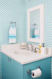 Wallpaper For Bathrooms Ideas by 278 Best Wallpapered Bathroom Images On Pinterest Bathroom Ideas
