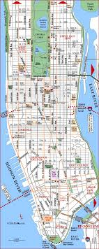 map of nyc show map of new york major tourist attractions maps