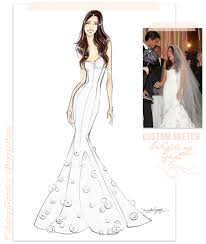 wedding gift next fabulous doodles fashion illustration by hagel custom