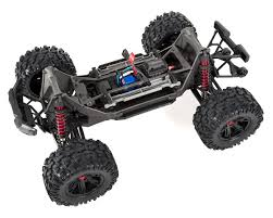 monster jam remote control trucks traxxas x maxx 8s 4wd brushless rtr monster truck red tra77086