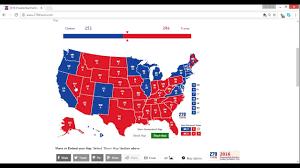 Florida Election Map by 2016 Electoral Map Prediction Trump Vs Clinton 10 4 5 Weeks