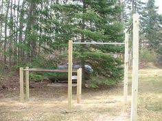 Diy Backyard Pull Up Bar by Outside Crossfit Gym The Homemade Home Diy Pinterest