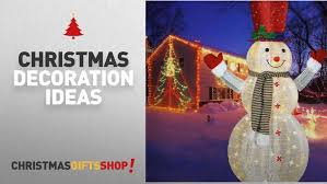 furniture top outdoor snowman decorations led popup