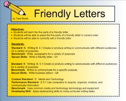 smart exchange usa friendly letter and business letter