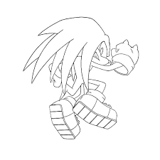 knuckles winning pose coloring pages knuckles winning pose