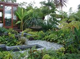 tropical landscaping ideas for backyard front yard landscaping ideas