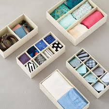 drawer dividers for clothes u0026 sock drawer organizers the