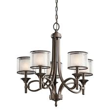 Kichler Lighting Hendrik by Kichler 42381miz Five Light Chandelier Amazon Com