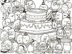 doodle happy birthday nidhi doodles happy birthday kawaii