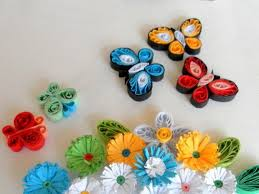 paper quilling how to quilled butterflies and flowers feltmagnet