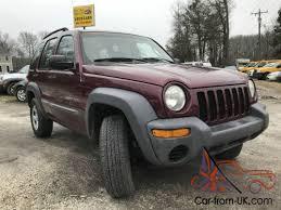 jeep liberty 2003 4x4 jeep liberty 2003 jeep liberty suv sport 4x4 5 speed manual 4wd