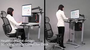 Standing Sitting Desk by Sit Stand Workstations U2013 Display Stands India