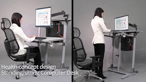 hydraulic gas lift adjustable healthy desk adults u2013 display