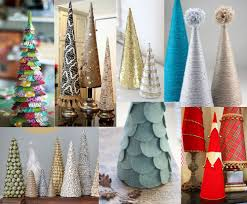 the how to gal december pinterest party diy mini christmas trees