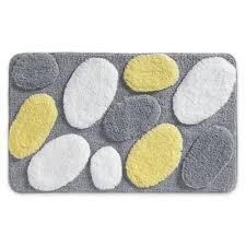 Luxe Microfiber Chenille Bath Rug Buy Yellow Bath Rug From Bed Bath U0026 Beyond