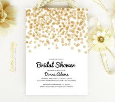 bridal shower invitation bridal shower invitation gold and black from lemonwedding on