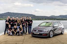 volkswagen gti modified vw trainees unveil gti golf r variant concepts at wörthersee