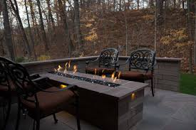Gas Firepit Gas Firepit In Amherst Ohio Brian Kyles
